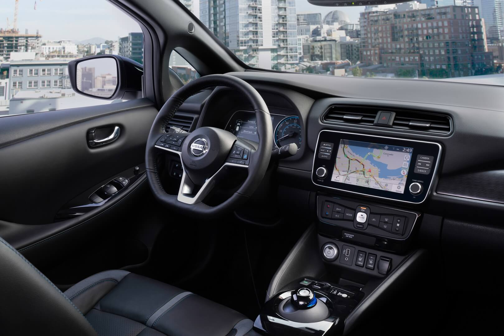 Nissan Leaf e+-interior-7