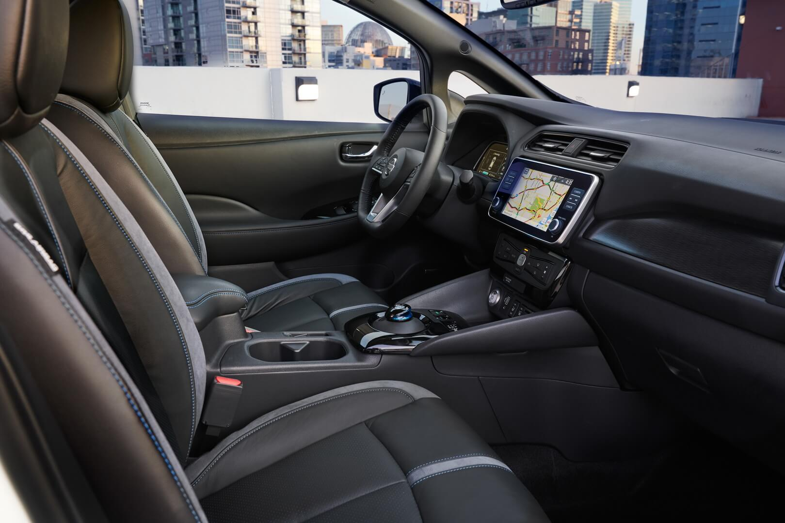 Nissan Leaf e+-interior-0