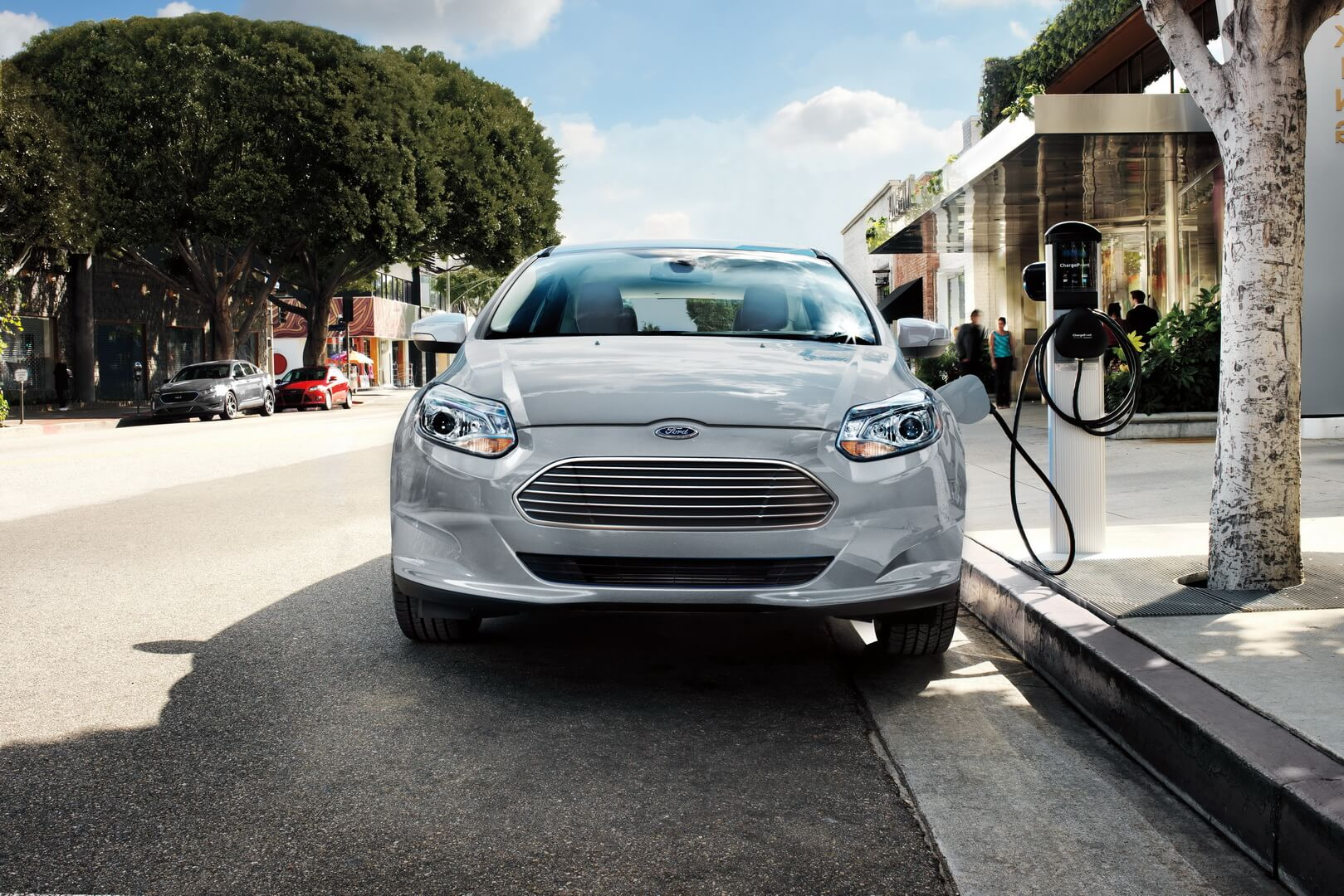 Ford Focus Electric 34kwh-exterior-0