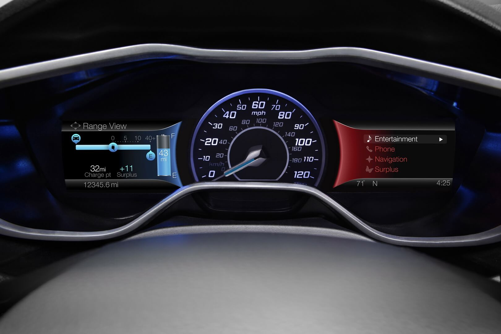 Ford Focus Electric 23kwh-interior-13