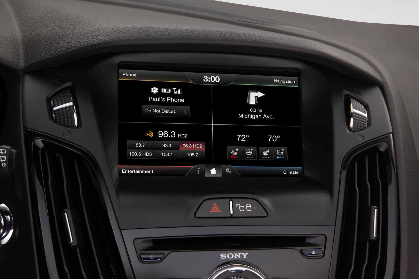Ford Focus Electric 23kwh-interior-12