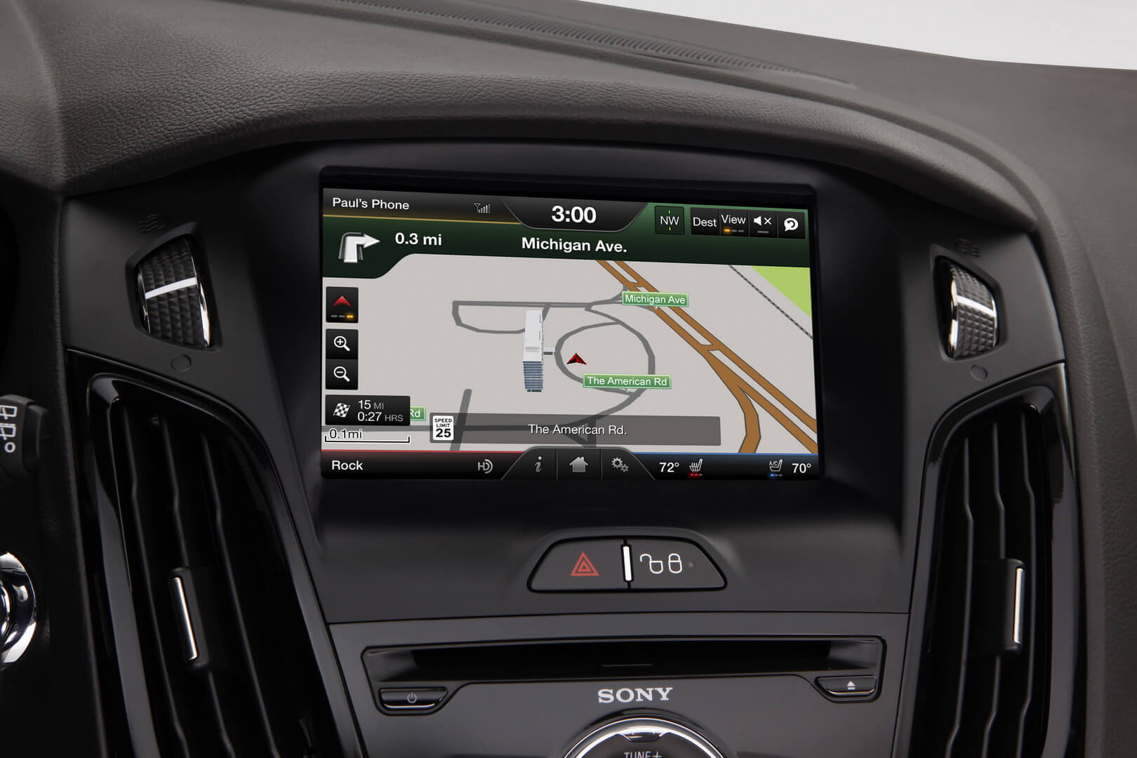 Ford Focus Electric 23kwh-interior-11