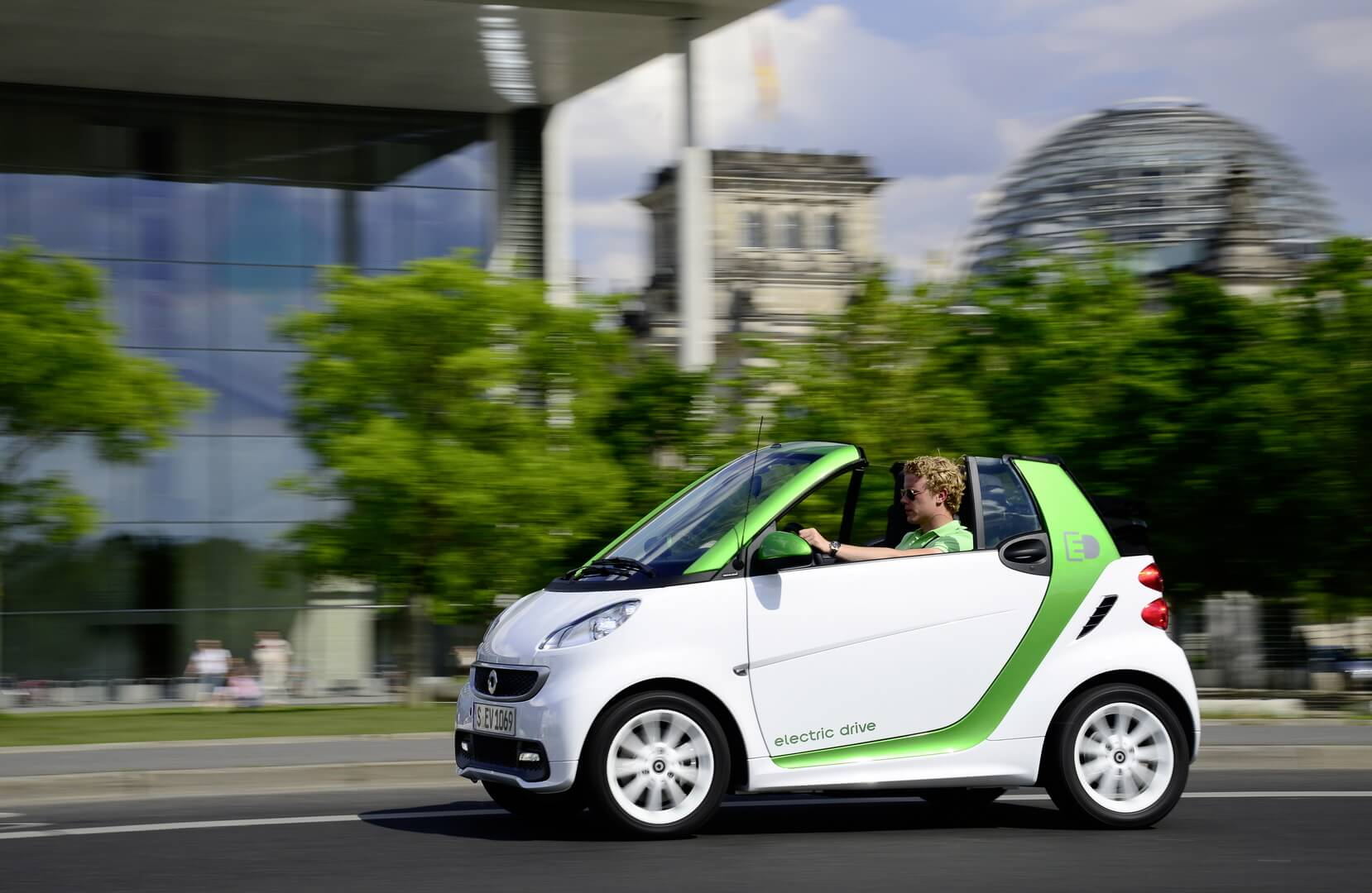 Smart Fortwo Electric Drive 2012-exterior-13