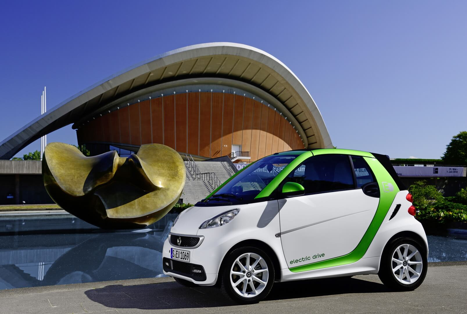 Smart Fortwo Electric Drive 2012-exterior-15